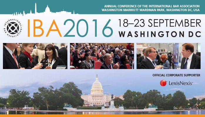 international bar association iba conference washington dc 2016