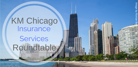 KM Chicago Insurance Services Roundtable event