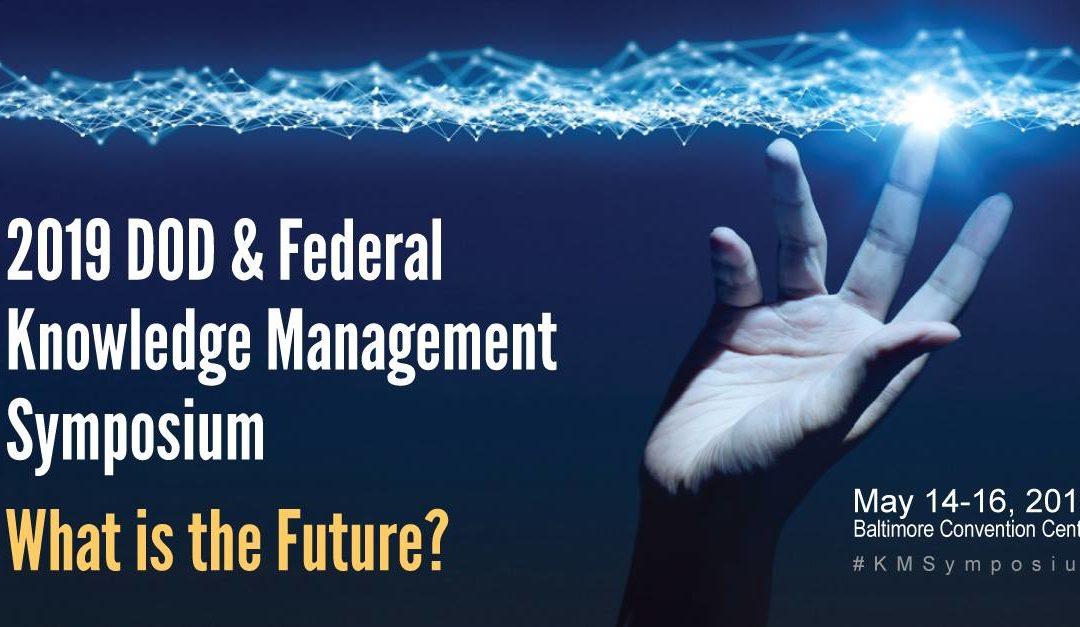Dr. Anthony J. Rhem to present at the DOD and Federal Knowledge Management Symposium