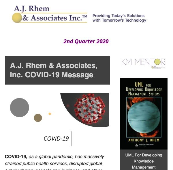 cover of AJRA Q2 newsletter