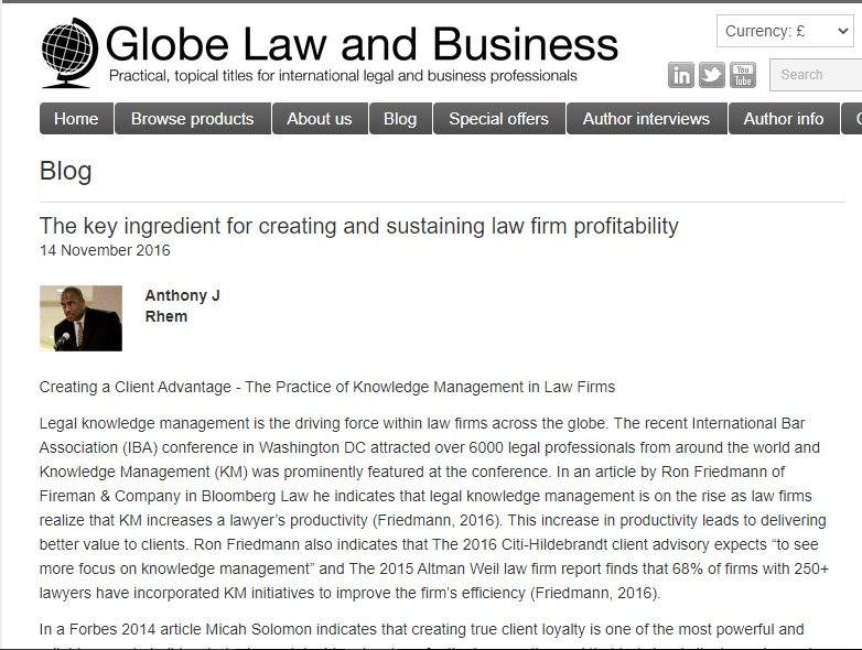 Globe Law and Business
